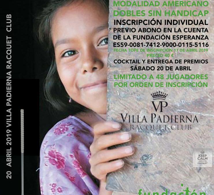 Próximo «I Torneo de Croquet Fundación Esperanza» en Villa Padierna Racquet Club