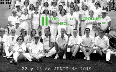 II Torneo de Croquet GC Fundación Esperanza en Club de Golf Vistahermosa