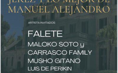Falete se suma al elenco de artistas del concierto de A dos velas en homenaje a Manuel Alejandro y a beneficio de Fundación Esperanza